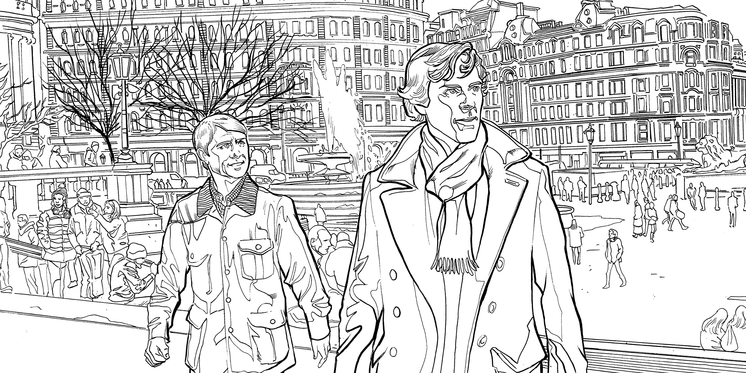Book Review Sherlock The Mind Palace A Colouring