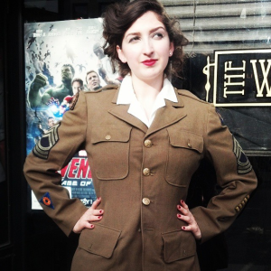 Military cosplay. The Baker Street Babes. www.bakerstreetbabes.com