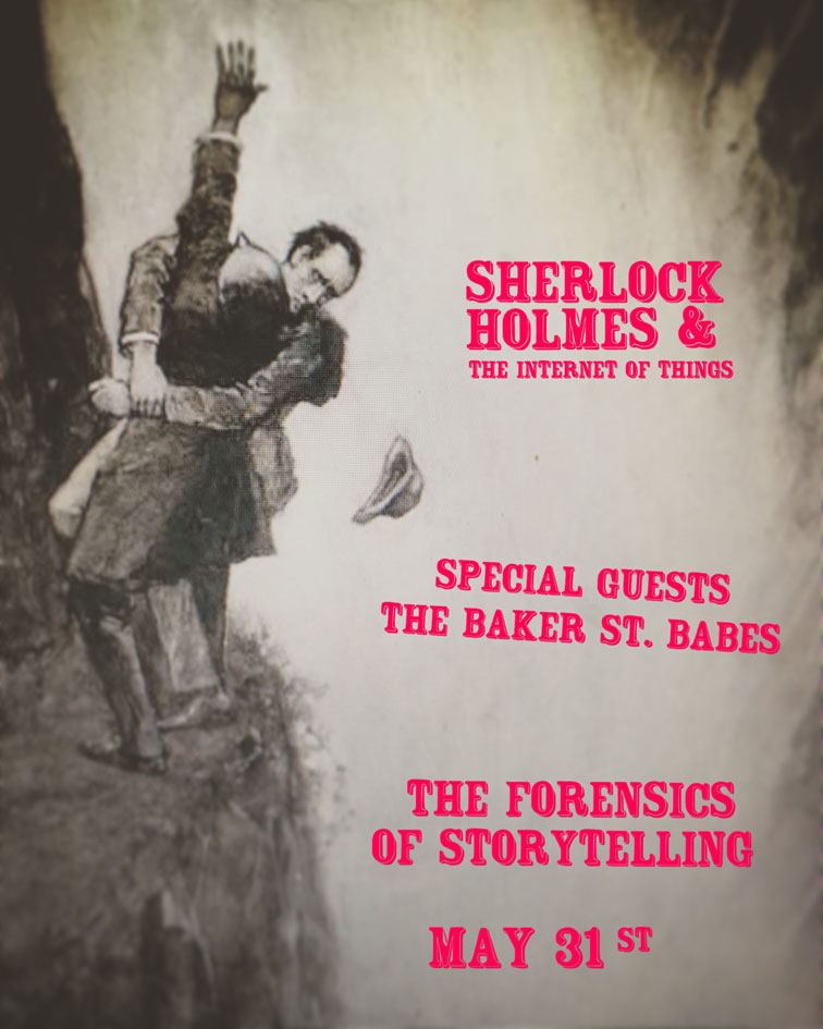 Sherlock Holmes & The Internet of Things - The Baker Street Babes at The Lincoln Center