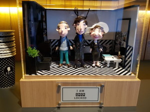 221B Cafe in Seoul. Sherlock cafe. The Baker Street Babes. www.bakerstreetbabes.com